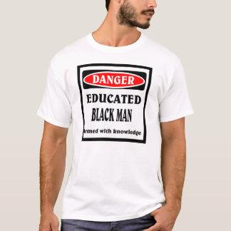 教育がある黒人男性 Tシャツ
