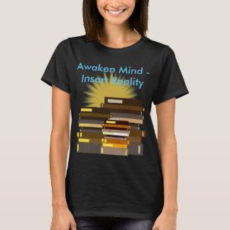 教育の茎のギフトを学ぶ感動的な本 Tシャツ