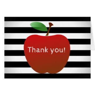 教育者はノート感謝していしています ノートカード