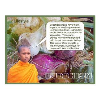 教育、宗教、仏教、ライフスタイル ポストカード