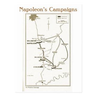 教育、歴史、ナポレオン、ウォータールー ポストカード