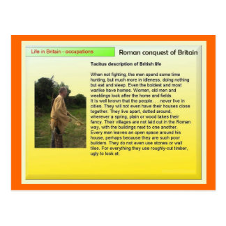 教育、歴史、ロマン、イギリスのライフスタイル ポストカード
