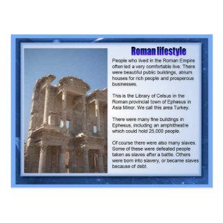 教育、歴史、ロマン、ローマのライフスタイル ポストカード