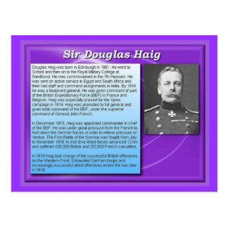 教育、歴史、第1次世界大戦、ダグラスヘイグ ポストカード