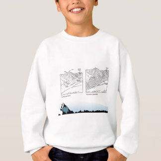 教育、科学、地理学、氷河 スウェットシャツ