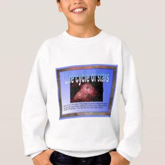 教育、科学、星のライフサイクル スウェットシャツ