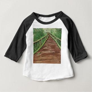 散歩して下さい ベビーTシャツ