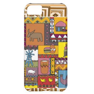 数々のなアフリカの種族の生命 iPhone5Cケース