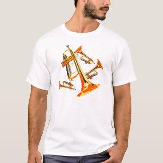 数々のなトランペット Tシャツ
