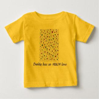 数々のなハートのベビーのTシャツA7 ベビーTシャツ