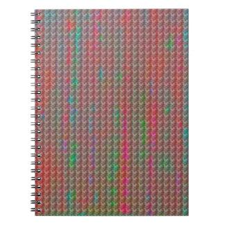 数々のなパステル調のノート ノートブック