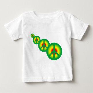 数々のなラスタの平和 ベビーTシャツ
