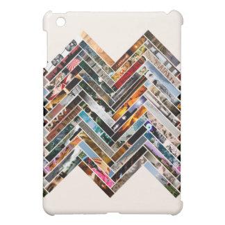数々のな写真のコラージュ iPad MINIカバー