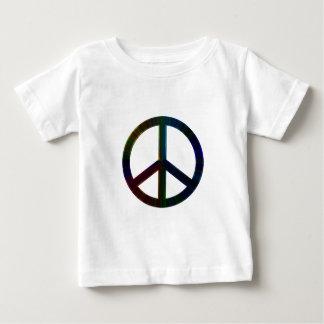 数々のな平和 ベビーTシャツ