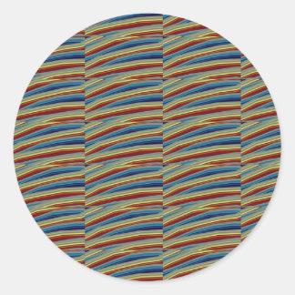 数々のな目的色の陰の調子のギフトのラベルのステッカー ラウンドシール