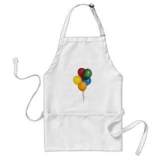 数々のな着色されたパーティーの気球 スタンダードエプロン