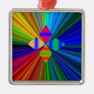 数々のな色のダイヤモンドのオーナメント メタルオーナメント