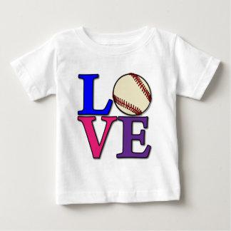 数々のな野球愛 ベビーTシャツ