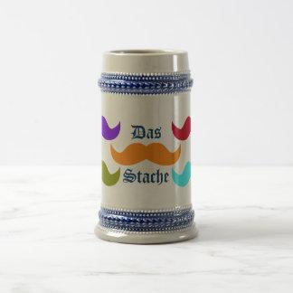 数々のなDasのstache - ビールジョッキ
