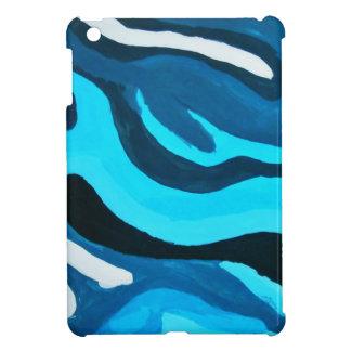 数々の青い絵画 iPad MINIケース