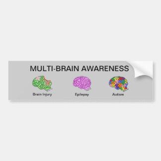 数々の頭脳 バンパーステッカー