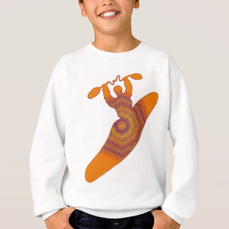 数を用いるカヤック スウェットシャツ
