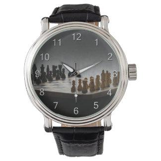 数を用いるチェス 腕時計