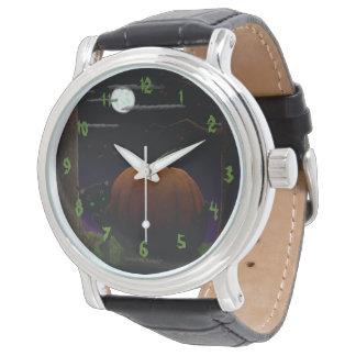 数を用いるハロウィンの腕時計 腕時計