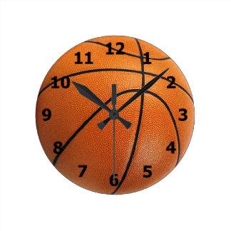 数を用いるバスケットボールの時計 ラウンド壁時計