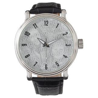 数を用いる腕時計のテンプレートの盛り土のイメージ 腕時計