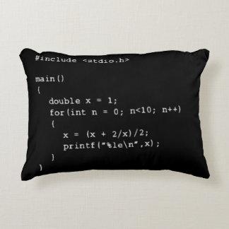 数プログラミング アクセントクッション