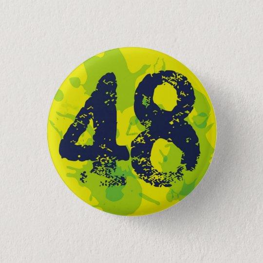 【数字】48バッチ 3.2CM 丸型バッジ