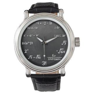数学のおたくのための数学の同等化の腕時計 腕時計