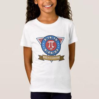 数学のおたくの子供のTシャツのためのPi日の記号 Tシャツ