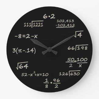 数学のオタク クロック