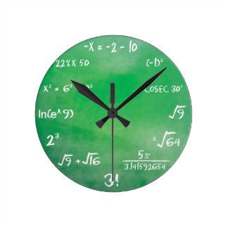 数学のクイズ- Sheldonのたる製造人の時計 ラウンド壁時計