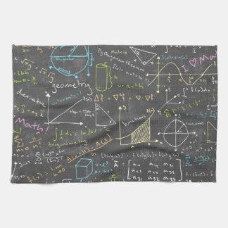 数学のレッスン キッチンタオル