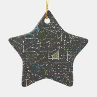 数学のレッスン セラミックオーナメント