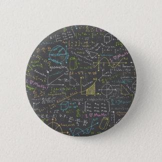 数学のレッスン 5.7CM 丸型バッジ