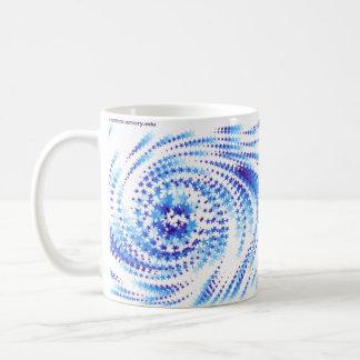 数学の中心の星 コーヒーマグカップ