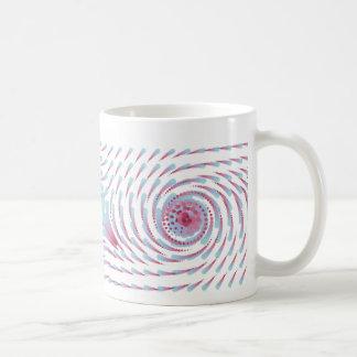 数学の中心の点 コーヒーマグカップ
