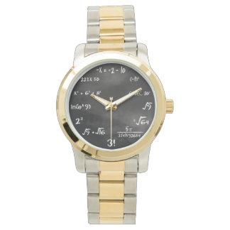 数学の同等化の腕時計 腕時計