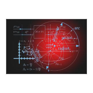 数学の同等化 キャンバスプリント