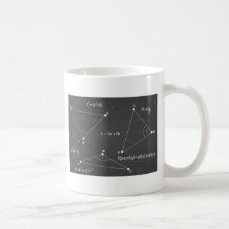 数学の同等化 コーヒーマグカップ