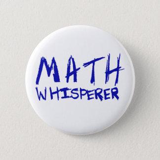 数学の囁くものボタン 5.7CM 丸型バッジ