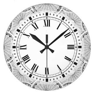 数学の天才Steampunkの九九 ラージ壁時計