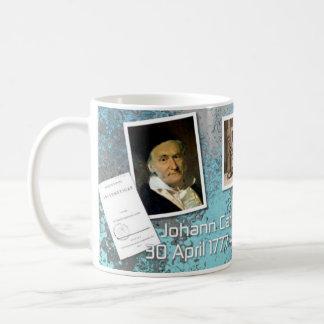 数学の恋人のためのカールF. Gauss Mug コーヒーマグカップ