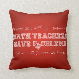 数学の教師に問題があります クッション
