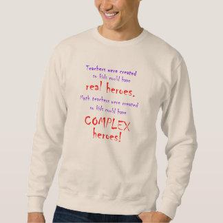 数学の教師のトレーナー スウェットシャツ