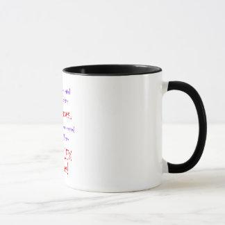 数学の教師の液体の回復の容器 マグカップ